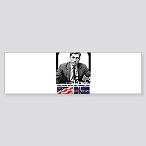 Robert Bobby Fischer American Chess Bumper Sticker