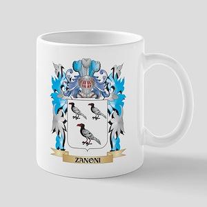 Zanoni Coat of Arms - Family Crest Mugs