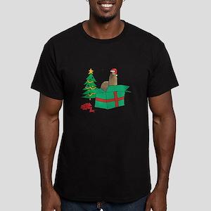 Alpaca For Christmas Gif T-Shirt