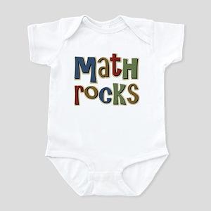 Math Rocks Arithmetic Geek Infant Bodysuit