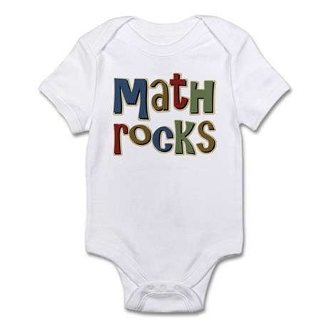 Math Rocks Arithmetic Geek Infant Bodysuit