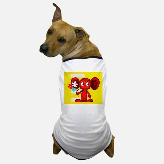 Cheburashka Soviet Animation Soyuzmult Dog T-Shirt