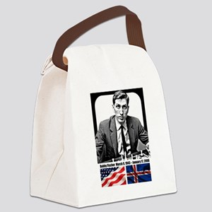 Robert Bobby Fischer American Che Canvas Lunch Bag