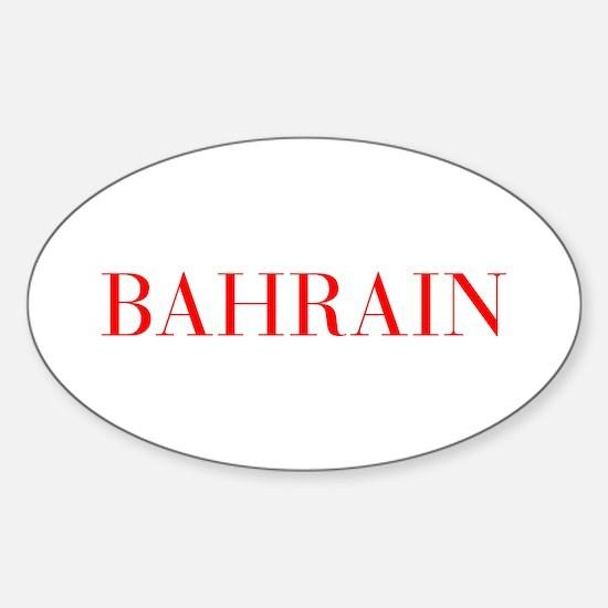 Bahrain-Bau red 400 Decal
