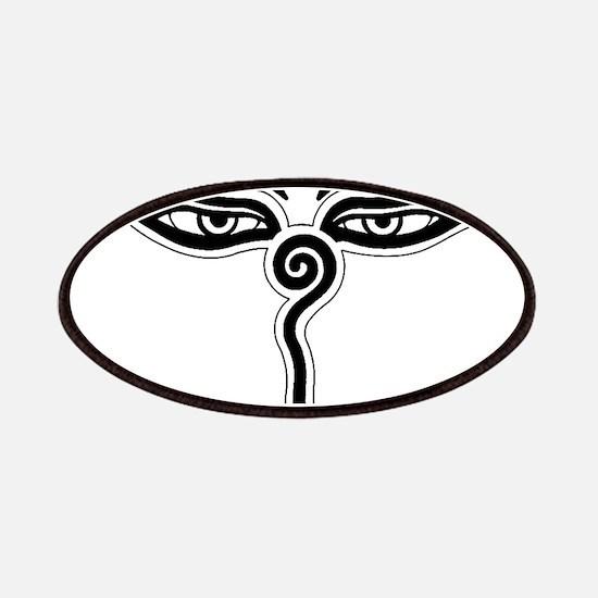 Buddha eyes tibet rebirth Symbol Buddhist Re Patch