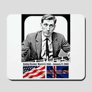 Robert Bobby Fischer American Chess gran Mousepad