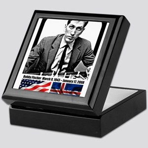 Robert Bobby Fischer American Chess g Keepsake Box