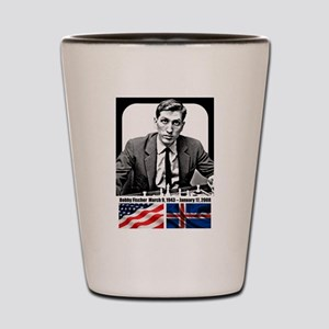 Robert Bobby Fischer American Chess gra Shot Glass