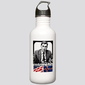 Robert Bobby Fischer A Stainless Water Bottle 1.0L