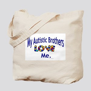 My Autistic Nephews Love Me Tote Bag
