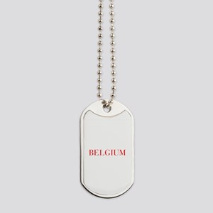 Belgium-Bau red 400 Dog Tags
