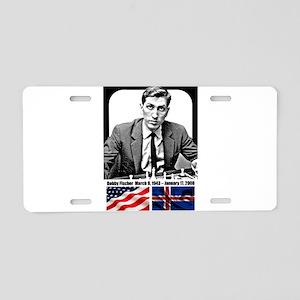 Robert Bobby Fischer Americ Aluminum License Plate