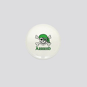 Irish Pirate Mini Button