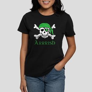 Irish Pirate Women's Dark T-Shirt