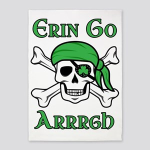 Irish Pirate 5'x7'Area Rug
