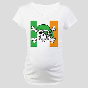 Irish Pirate Maternity T-Shirt