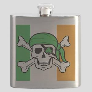 Irish Pirate Flask