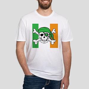 Irish Pirate Fitted T-Shirt