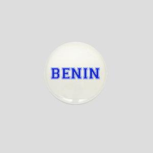 Benin-Var blue 400 Mini Button