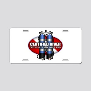 Certified (ST) Aluminum License Plate
