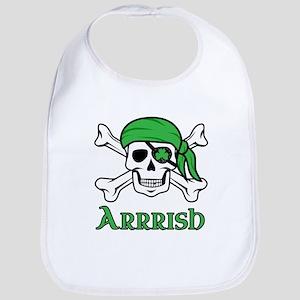 Irish Pirate - Arrrish Bib