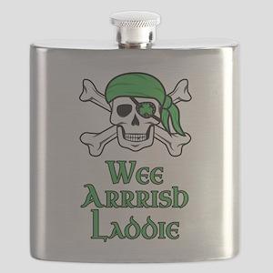 Irish Pirate - Wee Arrrish Laddie Flask
