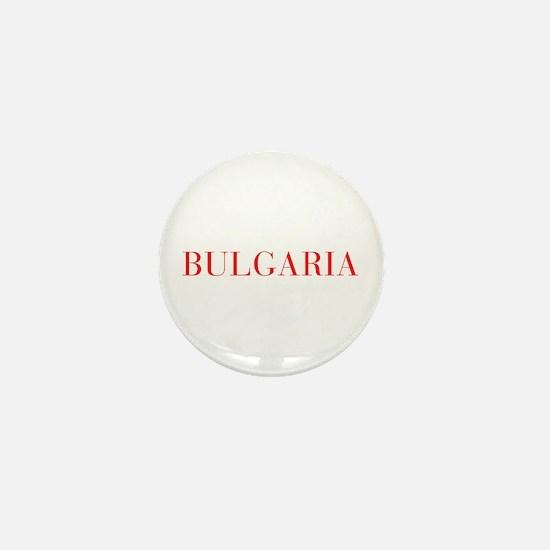 Bulgaria-Bau red 400 Mini Button