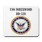 USS ISHERWOOD Mousepad