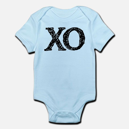 XO - black and white Body Suit