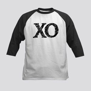 XO - black and white Baseball Jersey