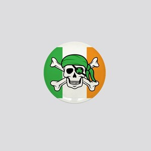 Irish Jolly Roger - Pirate Flag Mini Button