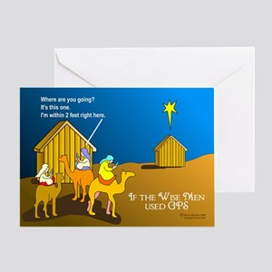 Wise Men Christmas Greeting Card