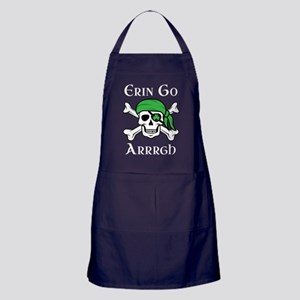 Irish Pirate - Erin Go Arrrgh Apron (dark)