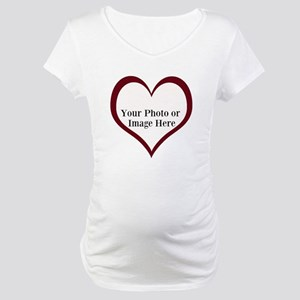 Your Photo Heart by LH Maternity T-Shirt