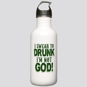 Swear To Drunk I'm Not Stainless Water Bottle 1.0L