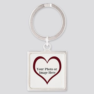 Your Photo Heart by LH Keychains