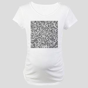 Graphical Pi Visualization Maternity T-Shirt
