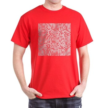 Graphical Pi Visualization Dark T-Shirt