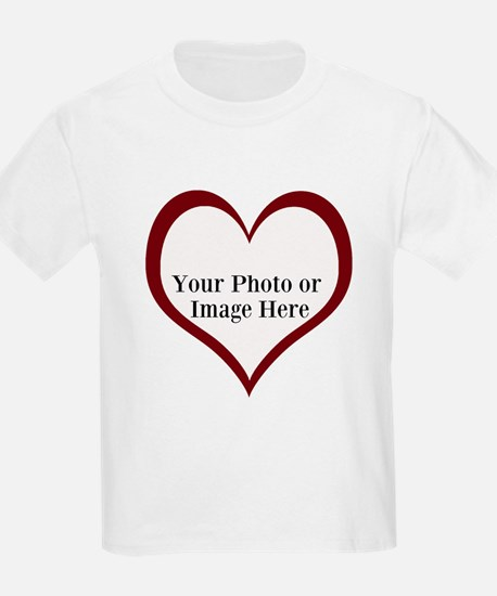 Your Photo Heart by LH T-Shirt