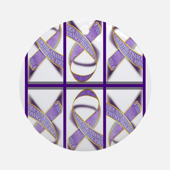 Ribbons for Change Ornament (Round)