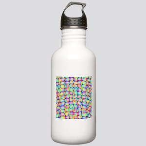 Rainbow Pi Visualization Stainless Water Bottle 1.