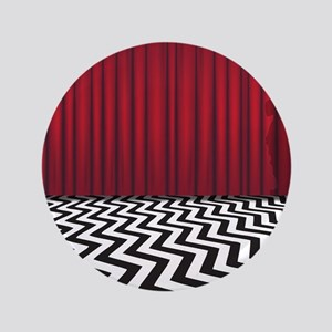 "Black Lodge Waiting Room 3.5"" Button"