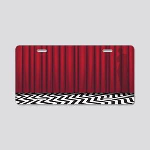 Black Lodge Twin Peaks Aluminum License Plate