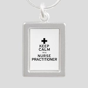 Keep Calm Nurse Practitioner Necklaces