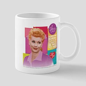 I Love Lucy Someone Boring 11 oz Ceramic Mug