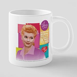 I Love Lucy Someone Boring 20 oz Ceramic Mega Mug