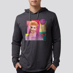 I Love Lucy Someone Boring Mens Hooded Shirt