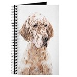 English Setter (Orange Belton) Journal