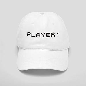 PLAYER 1 8 BIT Baseball Cap