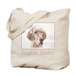English Setter (Orange Belton) Tote Bag